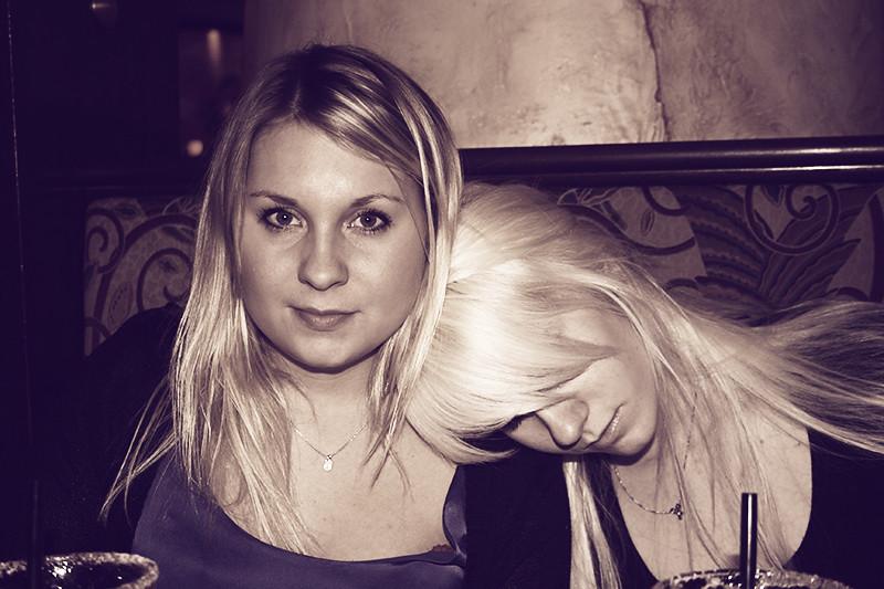 Sandra och Malin