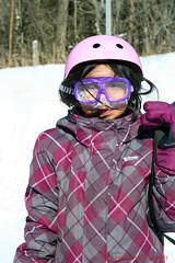 too cute (LakeRidge Photography) Tags: park pink winter ski swimming hair snowboarding frost mask tube goggles fast racing resort icy lakeridge