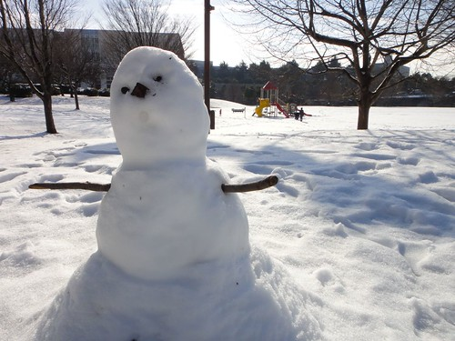 A little snowman.
