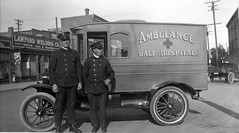 Ambulance Originally Operated by the Galt Hospital (Galt Museum & Archives on The Commons) Tags: ambulance firedepartment firefighters lethbridge galt galtmuseum galthospital galtarchives greatestyears lethbridgefirsts
