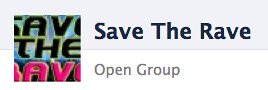 Save the Rave: open group