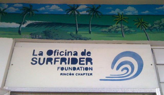 La Oficina de Surfrider Foundation. Rincón Chaper