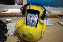 So Cute! B.Duck Motion Speaker 06 (-TommyTsutsui- [nextBlessing]) Tags: motion duck nikon ipod speaker headphones shake iphone