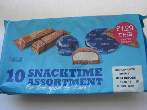 M&S snacktime