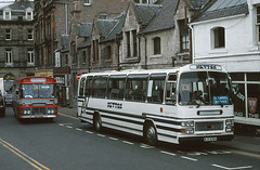 Newton WJS839X Inverness (Guy Arab UF) Tags: bus buses scotland volvo coach 1982 newton inverness b58 plaxton wjs839x strotherslane