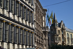 Gante (Bélgica) (littlecastle96) Tags: gante bélgica geografíahumana edificio monumento turismo gótico neogótico neoclásico columnas column arquitectura architecture