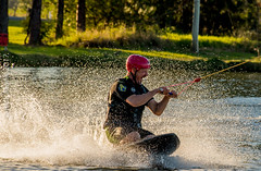 Omnia Cable Ski-0119 (~.Rick.~) Tags: cableski carbrook friends kneeboard omniagroup qld queensland seq team excitement fun ski water australia au