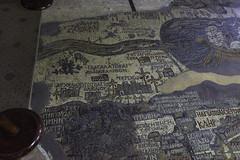 "III - Madaba Map -  Section A: (egisto.sani) Tags: giordania madaba jericho gerico ""jordan river"" giordano ""dead sea"" ""mar morto"" palestine palestina israel israele jerusalem gerusalemme ""mosaico pavimentale"" ""byzantine mosaic"" art"" ""arte bizantina"" bizantino"" ""floor ""chiesa do san giorgio"" ""church saint george"" jordan"