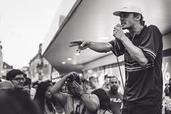 Porta Supporta / Altstadtfest (Zesk MF) Tags: bw black white street people concert hip hop rap beats trier porta supporta altstadtfest zesk mf crowd music rapper singer nikon sigma art 18 20mm mc birdseye