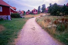 Swedish Summer (My Best Images) Tags: summer road house archipelago idyll redhouse faluröd vitaknutar gravelpath