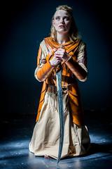 pray sword (Bert de Bruin) Tags: warrior sword pray grace light natural public church god innocence