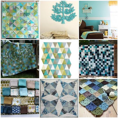 favourites: blue