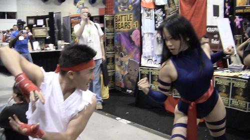 Ryu vs Psylocke: Marvel vs Capcom