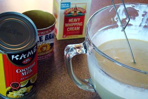 coconut ice cream ingredients