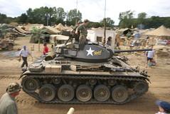 DSC05266 (tank102) Tags: show usa america kent tank military worldwarii american armor vehicle armour armored worldwar2 2010 chaffee armoured m24 warandpeaceshow beltring warpeaceshow m24chaffee