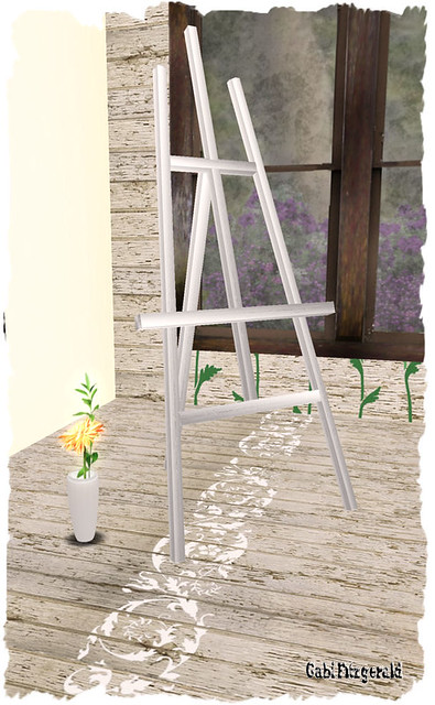 nocc flower and eChau easel