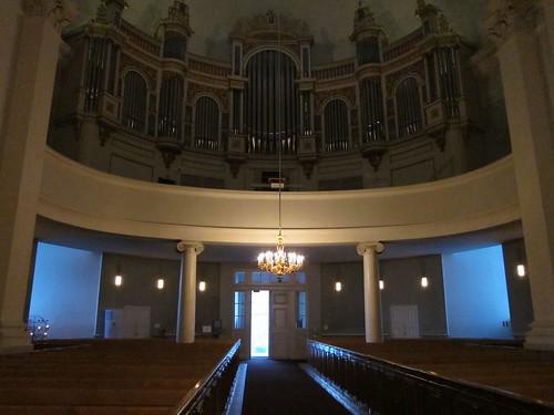 Inside Tuomiokirkko