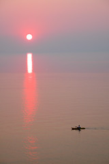 Bayfield Bliss (Jack Pal) Tags: pink sunset summer ontario canada kayak pastel lakehuron bayfield wow1 wow2 wow3 ontarioswestcoast doublyniceshot tripleniceshot mygearandme mygearandmepremium mygearandmebronze ringexcellence tgamphotodeskcolour artistoftheyearlevel3 artistoftheyearlevel4 aboveandbeyondlevel1 flickrstruereflection1 flickrstruereflection2 flickrstruereflection3 4timesasnice 6timesasnice 5timesasnice