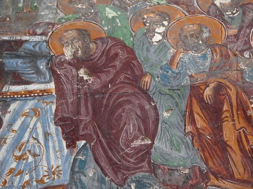 DSCN0308 Sümela, entrée de l'église, détail