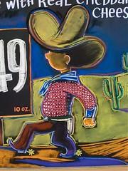 Dude (misterbigidea) Tags: art sign chalk cowboy display joe traderjoes sombrero joes chalkboard trader traderjoe littledude