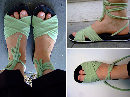 Summer Sandals Tutorial