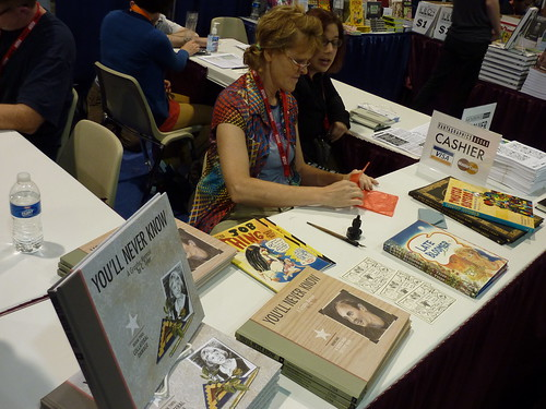 C. Tyler - Fantagraphics at Comic-Con 2010