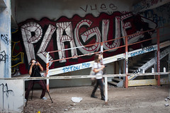 "Plague (""Soup"") Tags: sanfrancisco california old portrait abandoned graffiti paint gritty adventure explore bayarea plague vues urbex send1 fleishhackerpool"