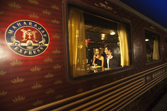 Maharajas' Express, India (Train Chartering & Private Rail Cars) Tags: indiantrain privatetrain privaterailcar chartertrain traincharter trainchartering privatecarriage luxurytravel luxurytrain luxurytrainclub indianluxurytrain maharajasexpress