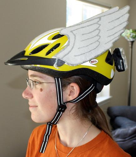 Modeling Hermes/Mercury Wings