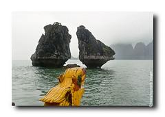 HaLong Bay # 16 (HoangHuyManh images) Tags: travel copyright mountains river boats bay fishing rocks village vietnam halongbay northernvietnam magicofnature vnhhlong earthasia hoanghuymanhimages