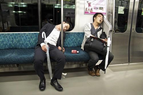 Viernes noche en la Yamanote Line