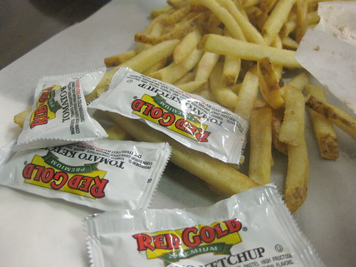 Joe Boston's Italian Beef, Chicago - fries