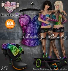 *GC&PWH* Funky PunkyToxic Rainbow