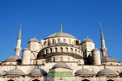 Blue Mosque - external view (bruno brunelli) Tags: blue turkey view blu istanbul mosque external moschea turchia