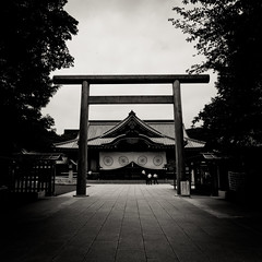 M9 - Yasakuni Shrine (Archiver) Tags: leica 3 japan zeiss tokyo shrine f28 jinja lightroom m9 21mm biogon dng yasakuni