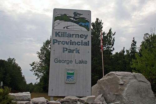 Arrival: Killarney Park Entrance