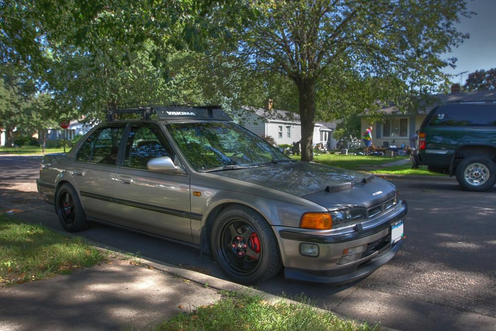 CB7_ACCORD 1 (DV Photo) Tags: Roof Sedan Honda Accord 1993 Yang Rack Slip