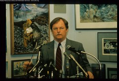 Exxon Valdez Oil Spill - 1303 (ARLIS Reference) Tags: people state oil conference spill press valdez meetings exxon