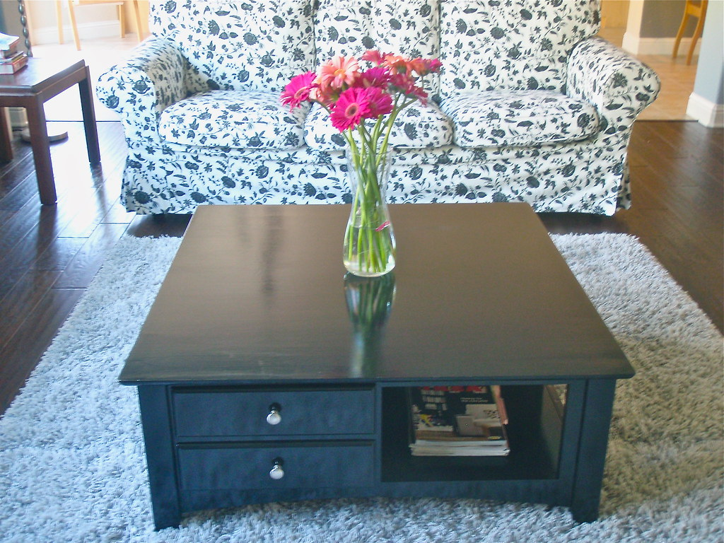 Thrift Store Coffee Table