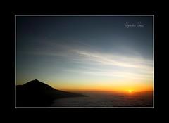 Desde las estrellas... (Alejandro Zeren Homs) Tags: sol atardecer nubes tenerife teide ocaso mardenubes miradordechipeque alejandrozerenhoms desdelasestrellas