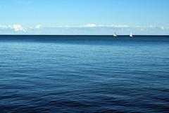 (ellaraye.) Tags: blue sky lake toronto ontario boats island
