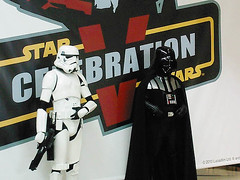 Star Wars Celebration V :: Darth Vader & Stormtrooper