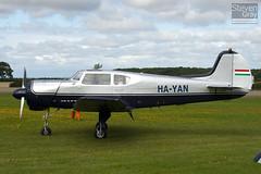 HA-YAN - 10-34 - Private - Yakovlev Yak-18T (Yak-18)  - Little Gransden - 100829 - Steven Gray - IMG_3326
