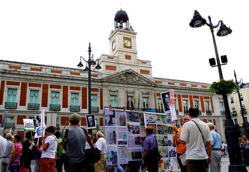 Concentración contra la impunidad del Franquismo (02/09/2010)