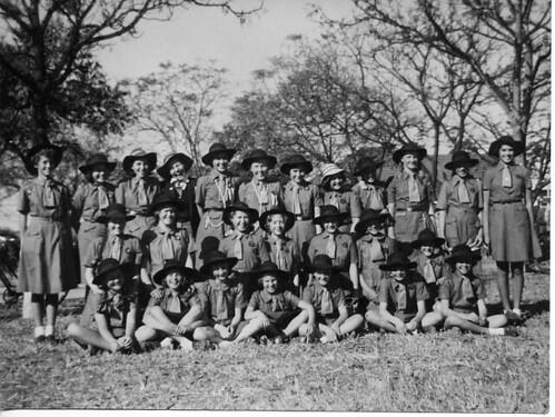 Ist Que Que Girl Guide Troop 1952
