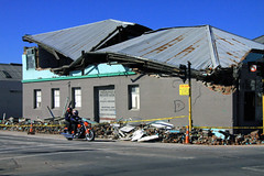 Christchurch Earthquake - Hard-Hat Zone