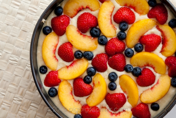 Fruit pastry cake 1