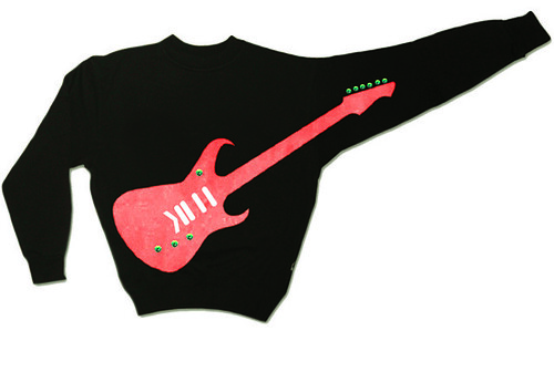 Rock my sweater - guitar shirt customizer