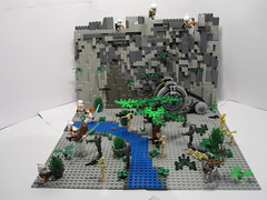 Lego Star Wars Battle of Kashyyyk (-Chriz-) Tags: brick star lego gray battle wars minifig clone productions droid moc kashyyyk graybrickproductions