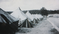 Accomodations at Camp Toccoa (jayinvienna) Tags: bandofbrothers camptoccoa easycompany currahee 506thpir